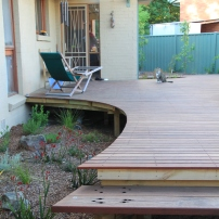 Plants will soon rise above deck