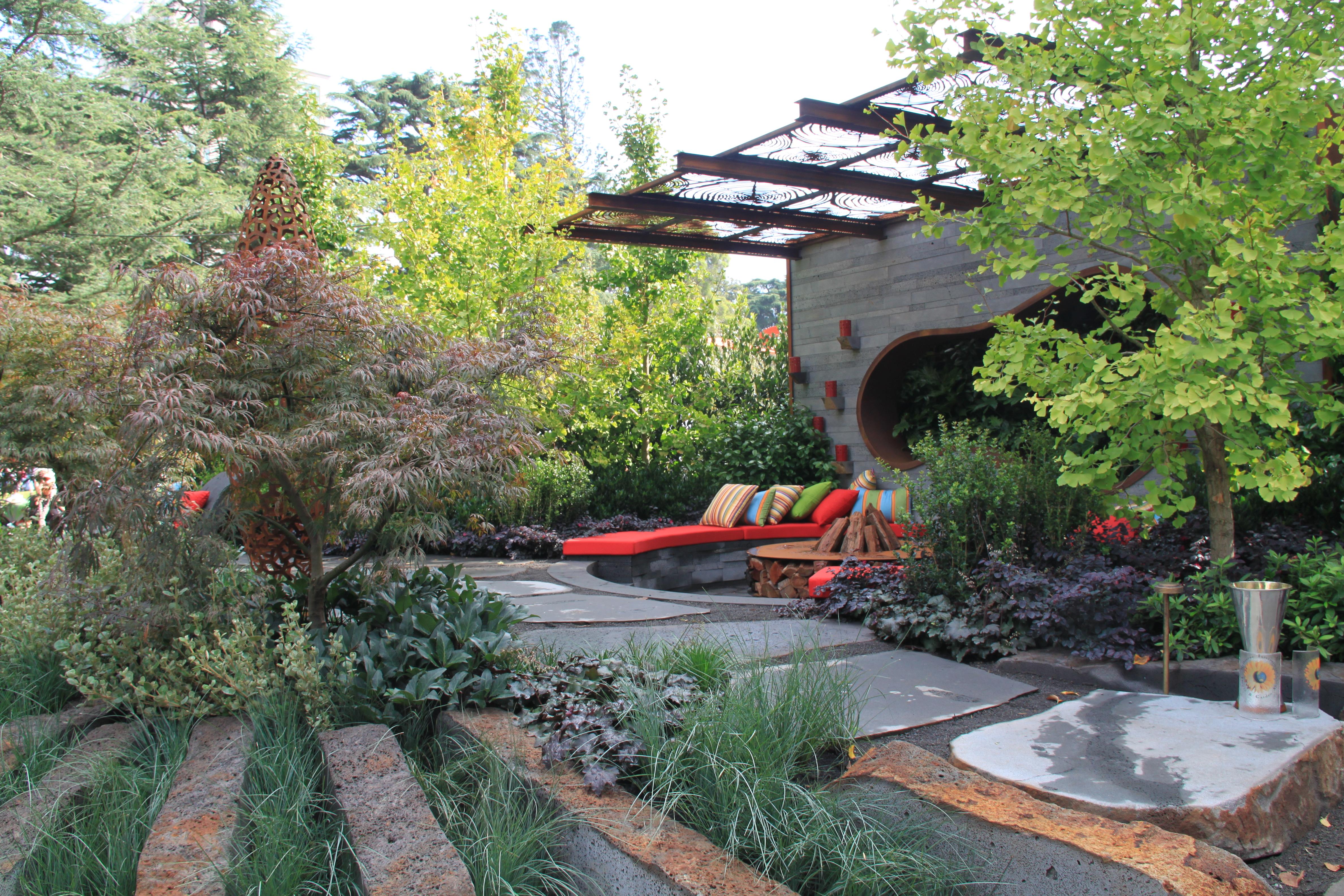 Melbourne Garden Show 2014 - Janna Schreier Garden Design