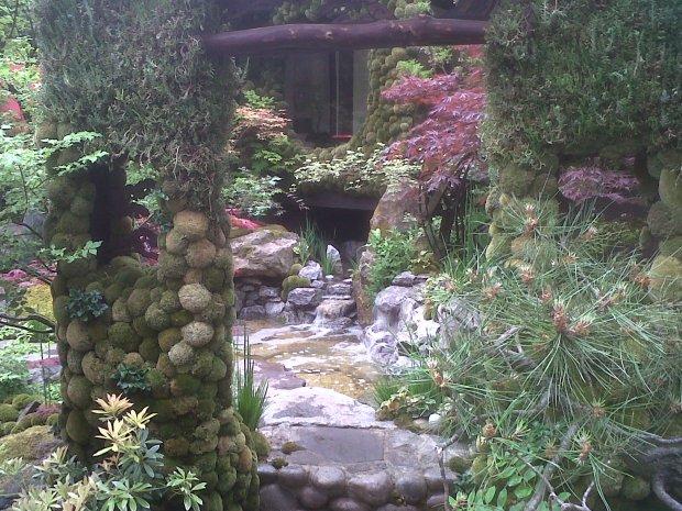 Chelsea Flower Show - Winner of the Artisan Garden; Ishihara Kazuyuki's 'Tokyo - A Paradise on Earth'