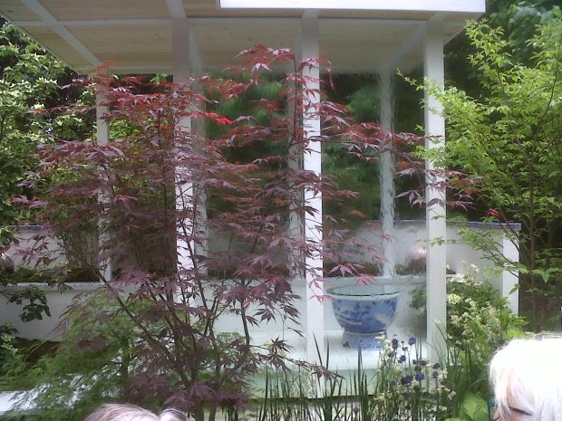 Chelsea Flower Show Artisan Garden - Another Japanese inspired creation with beautiful colour combinations