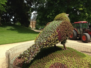 Waddesdon Manor plant sculpture