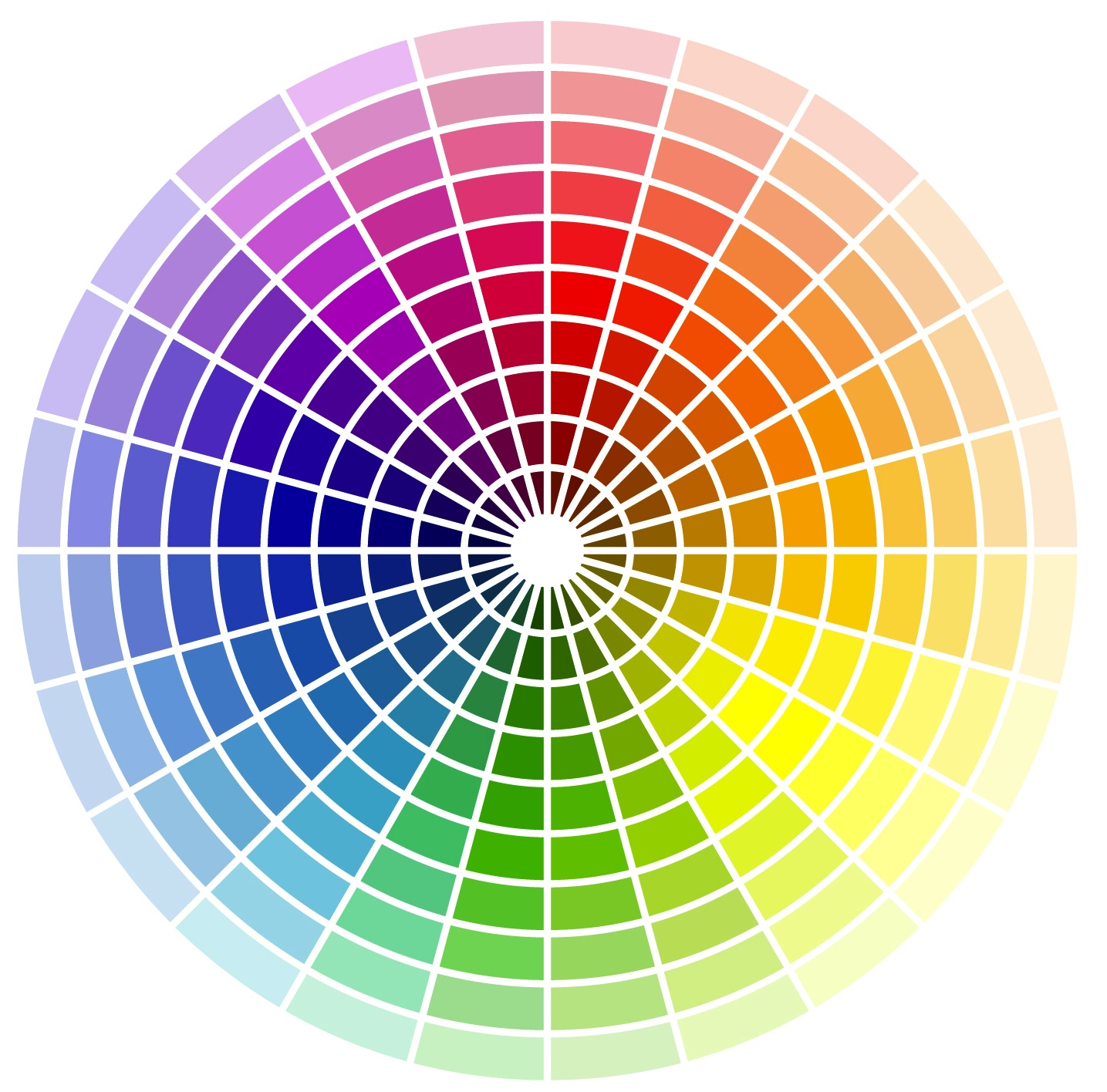4 tips for designing garden colour janna schreier garden for Picture of colour wheel