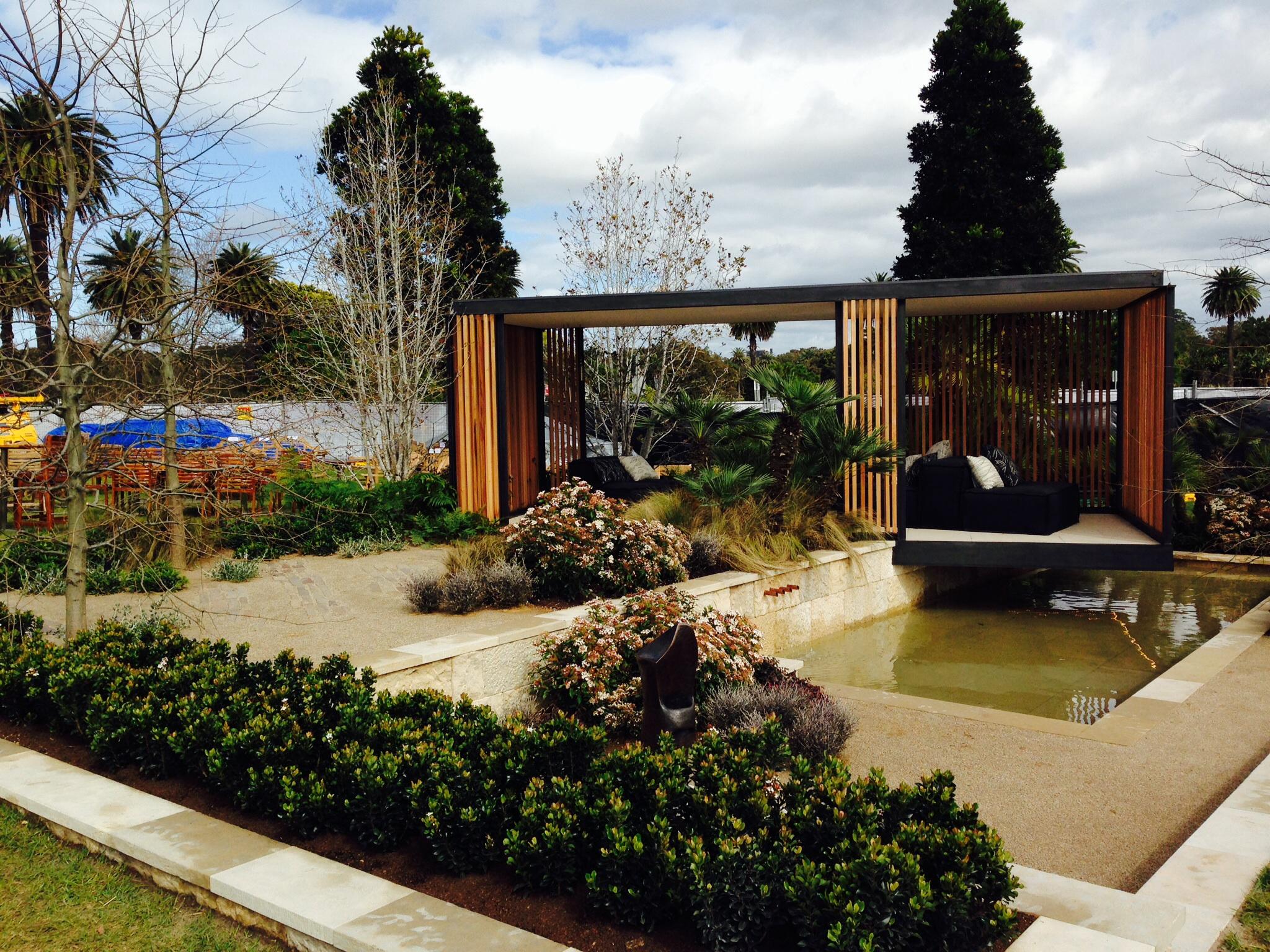 Australian garden show sydney 2014 janna schreier garden for Garden design 2014