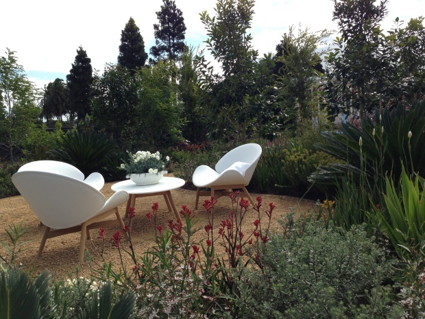 Andrew Fisher Tomlin's 'The Unexpected Garden' at the Australian Garden Show Sydney 2014