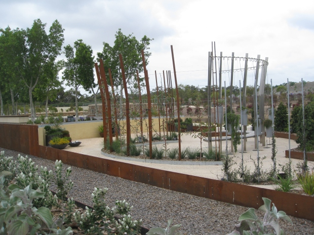 Creating a garden room with natives at the Royal Botanic Gardens Cranbourne