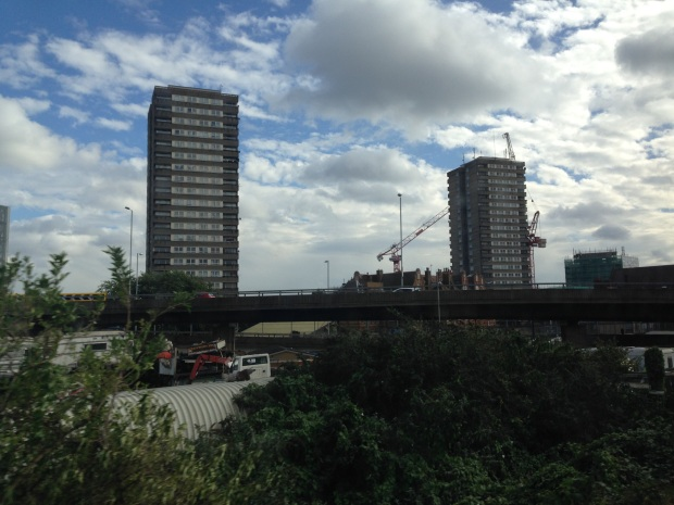 Tower blocks in London
