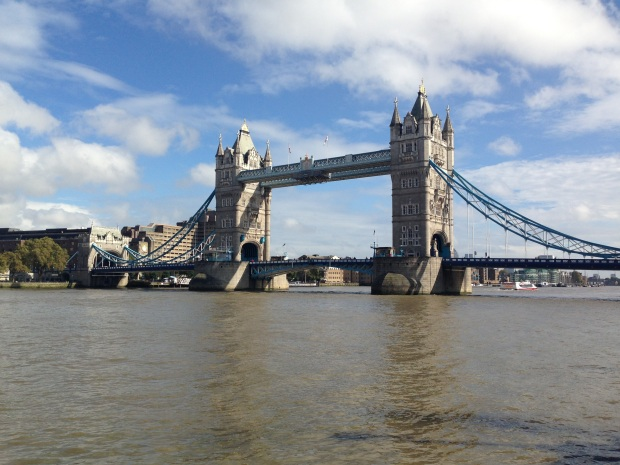 A not very garden-related photo of Tower Bridge; but isn't it stunning?