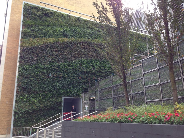 Vertical Wall, London