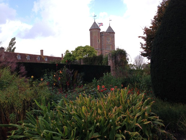 View of Sissinghurst Tower from the Cottage Garden