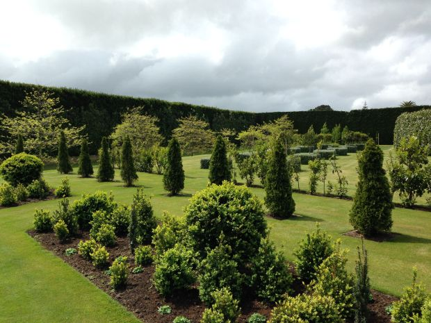 Formal layout at Gravetye Garden