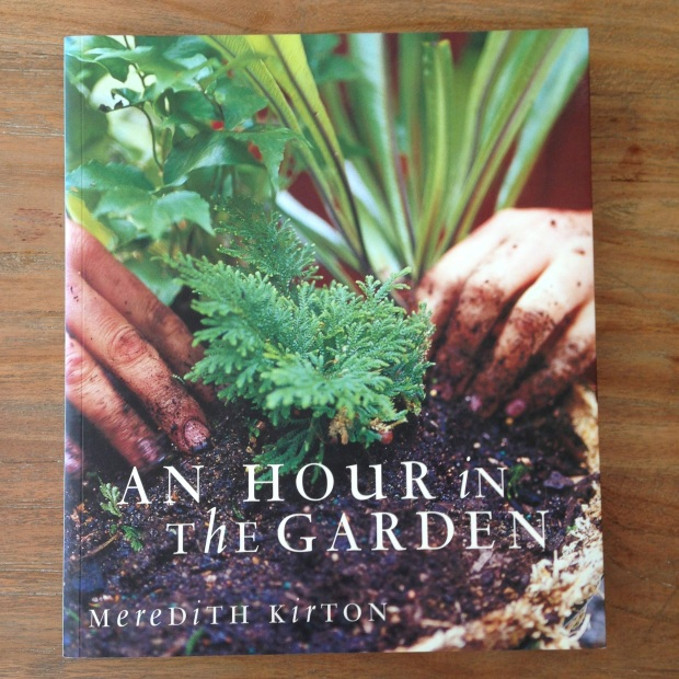 An hour in the garden by Meridith Kirton