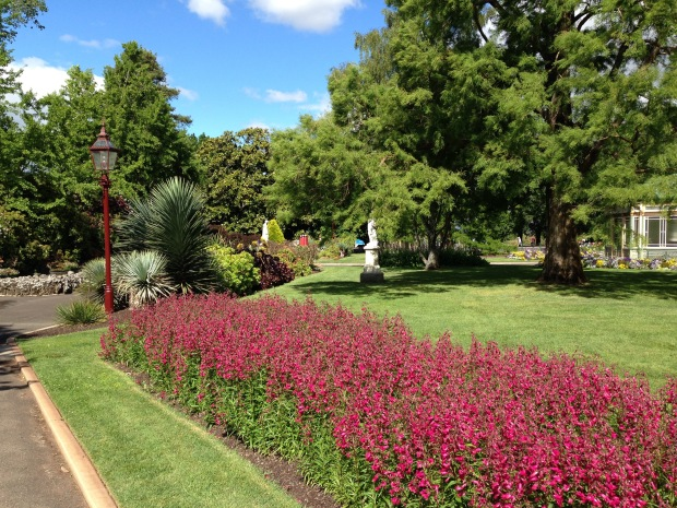 Immaculated maintained Ballarat Botanic Gardens. Janna Schreier