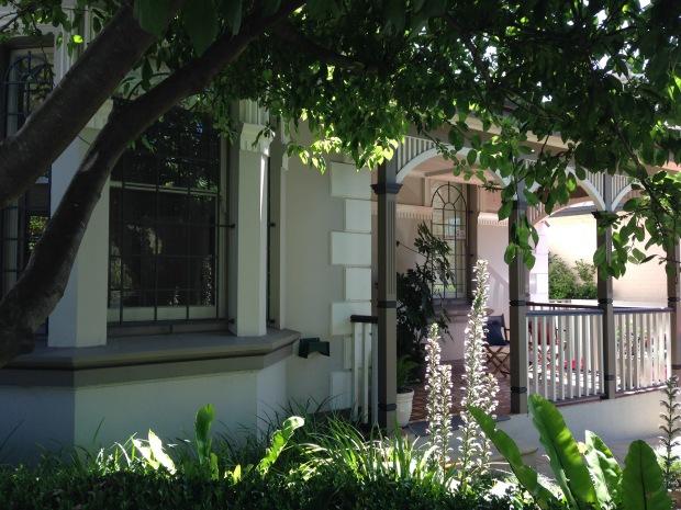 Janna Schreier's home front garden