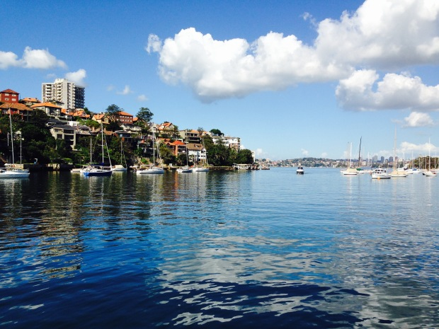 Mosman Bay from Cremorne Point. Janna Schreier
