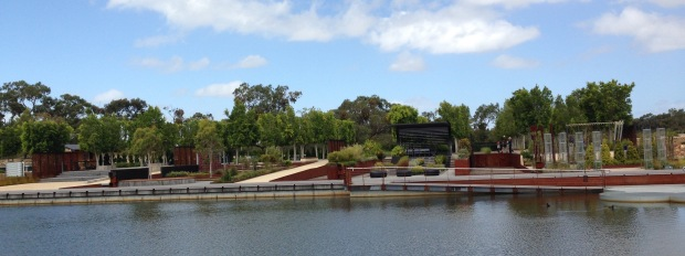 Panorama of the City, Lifestyle and Backyard gardens at Cranbourne. Janna Schreier
