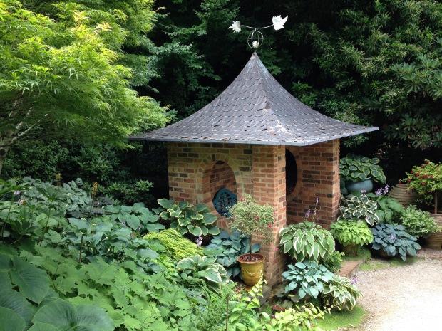 Peony pavilion at Cloudehill. Janna Schreier