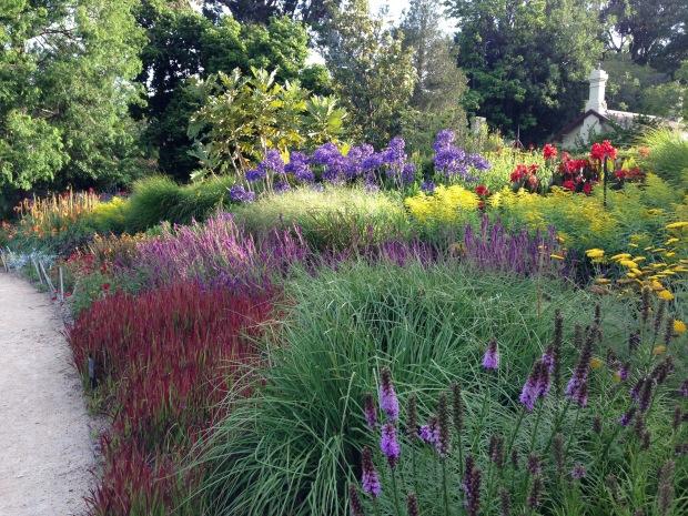 Perennial Border at Melbourne Botanic Garden. Janna Schreier