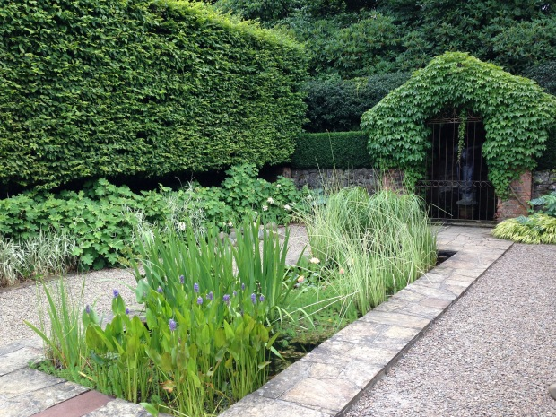 The water garden at Cloudehill. Janna Schreier