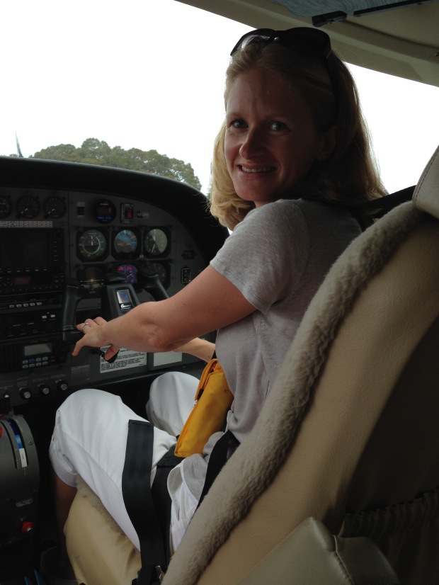 Co-pilot Janna Schreier