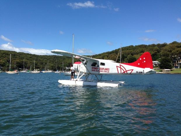 De Havilland Beaver seaplane. Janna Schreier