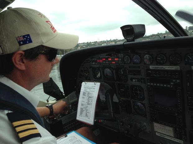 Sydney Seaplane Pilot. Janna Schreier