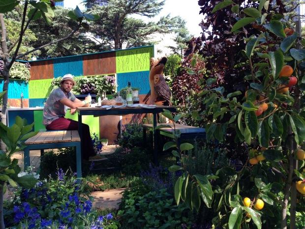 'Food Forest' floor by Phillip Withers. Janna Schreier