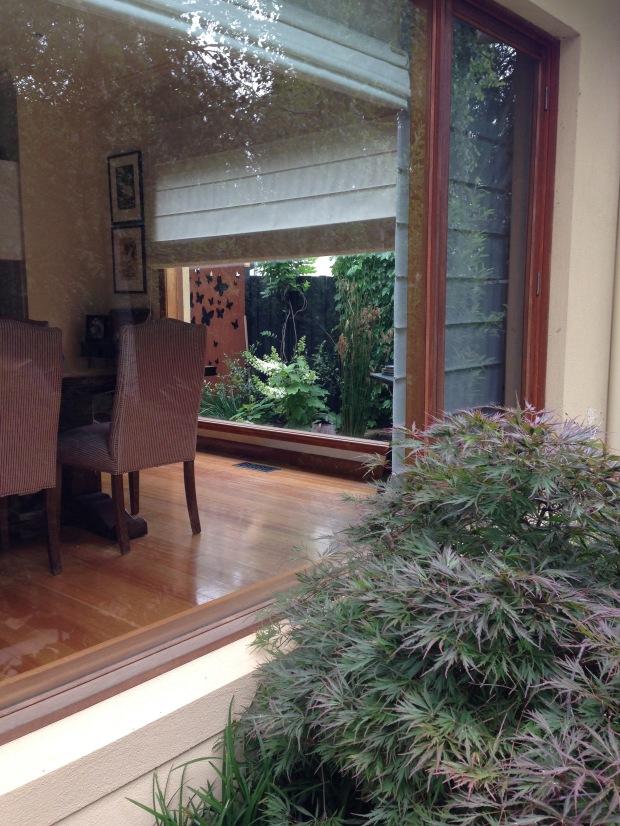 Garden views from the house. Janna Schreier