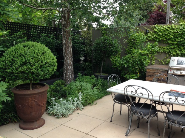 Natural herb garden. Janna Schreier