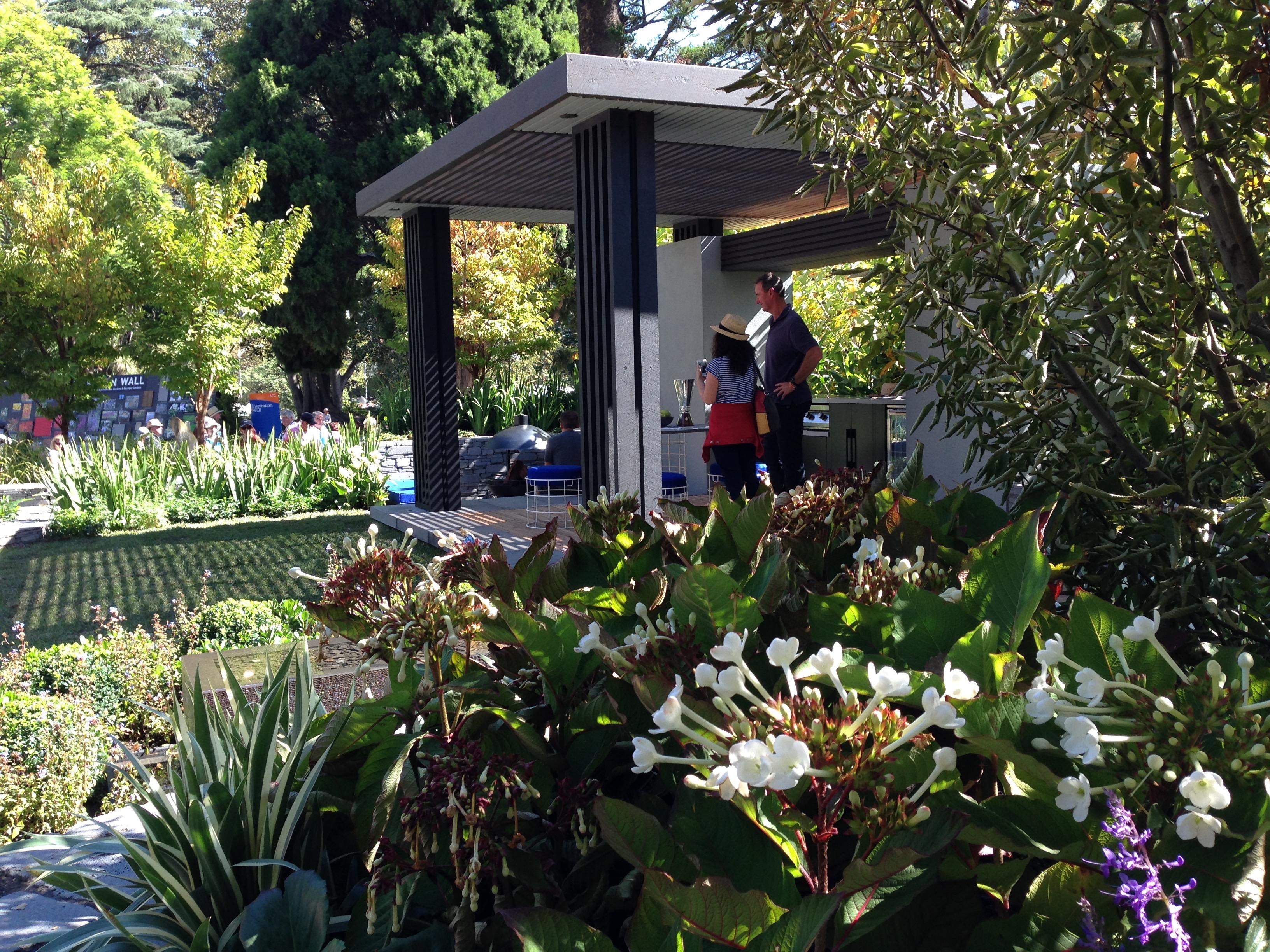 Melbourne Garden Show 2015 Janna Schreier Garden Design