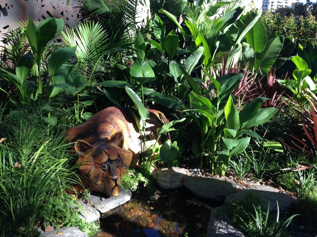 'Rousseau's Jungle' Achievable Garden by Heather Forward. Janna Schreier