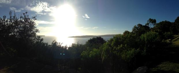 Sydney Harbour Heads. Janna Schreier