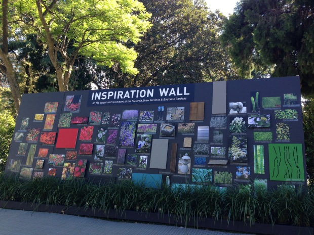 The Inspiration Wall at MIFGS 2015. Janna Schreier