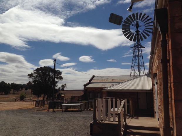 Sheep shearing facilities at Bungaree Station. Janna Schreier
