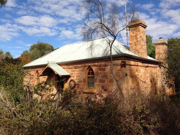 Stone cottage in Mintaro. Janna Schreier