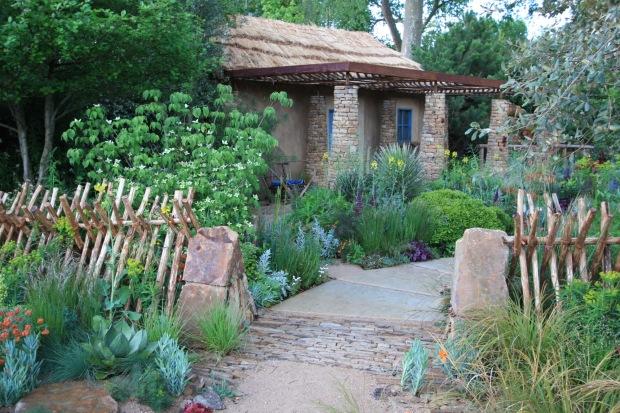 Arid planting at Matthew Keightley's Sentebale