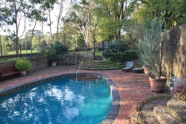 Cruden Farm swimming pool. Janna Schreier