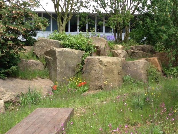 Dan Pearson's Chatsworth Chelsea garden's naturalistic planting
