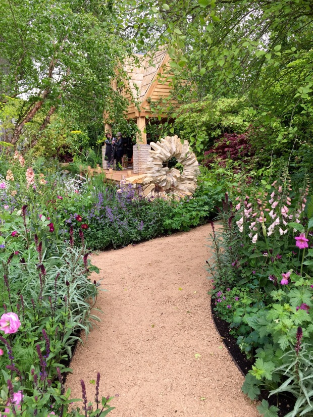 Jo Thompson's M&G Chelsea 2015 Garden