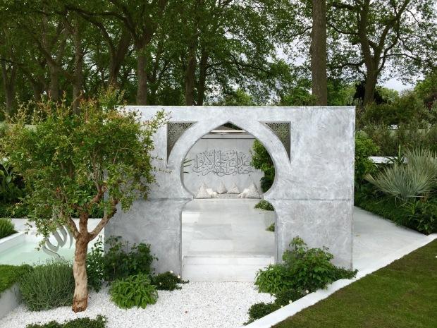 Kamelia Bin Zaal's Beauty of Islam Chelsea 2015 Garden