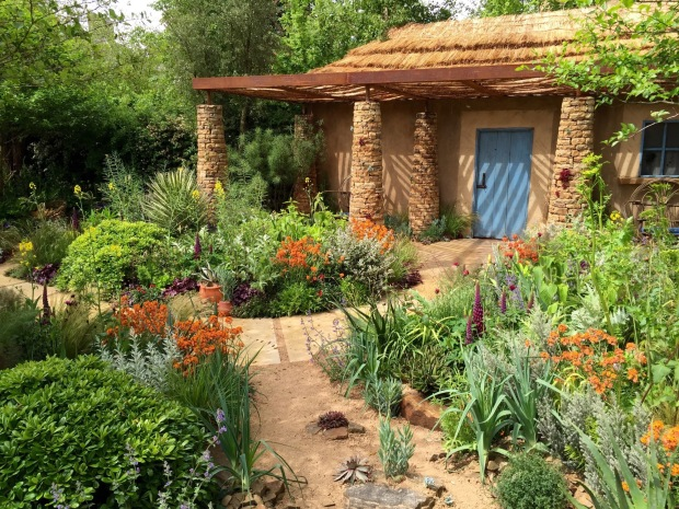 Matthew Keightley and Prince Harry's Sentebale Chelsea 2015 Garden