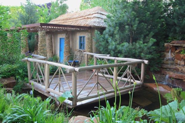 Matthew Keightley's Sentebale Chelsea 2015 garden
