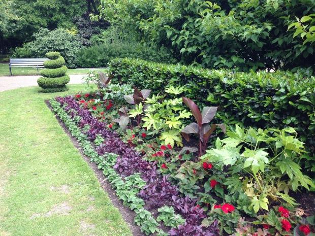 Spiral Topiary at Regent's Park. Janna Schreier
