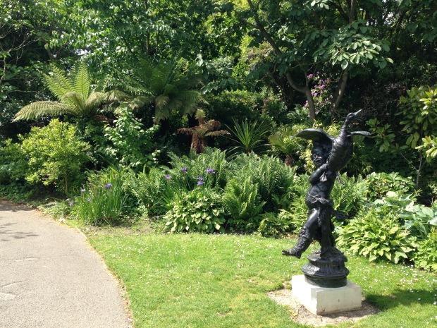 Tree ferns in Regent's Park. Janna Schreier