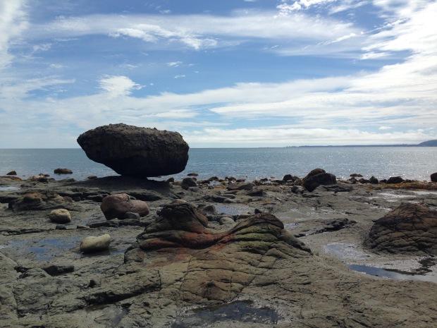 Balance Rock, Haida Gwaii. Janna Schreier