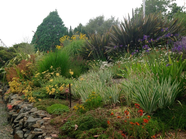 Bright border at Government House, British Columbia. Janna Schreier
