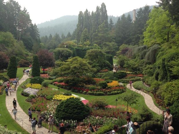 Butchart Gardens Sunken Garden. Janna Schreier