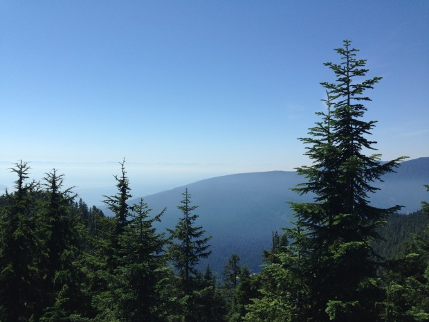 Grouse Mountain, Vancouver. Janna Schreier
