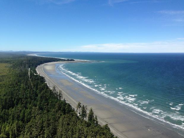 Northern Beach, Haida Gwaii. Janna Schreier