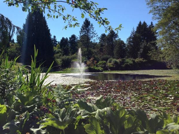 Van Dusen Garden, Vancouver. Janna Schreier