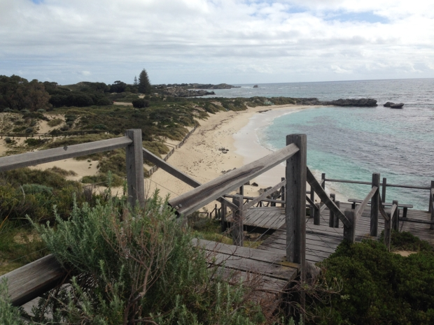 Rottnest beach and sand dunes